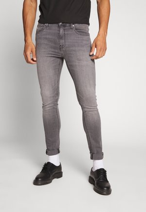 SUPER - Jeansy Skinny Fit - grey denim