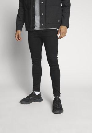 SUPER SKINNY - Jeans Skinny - black