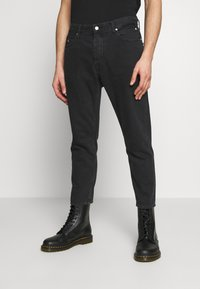 Calvin Klein Jeans - CK ONE DAD JEAN - Slim fit jeans - black stone - 0