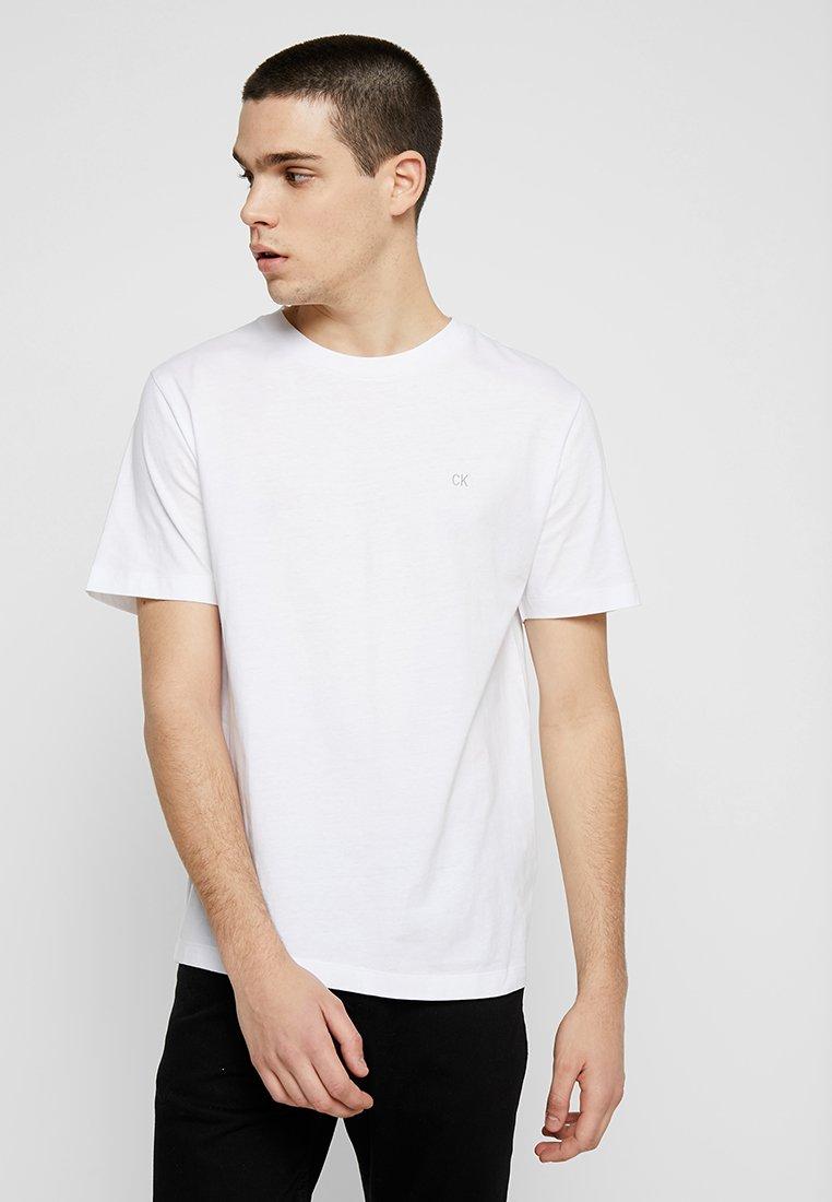 Calvin Klein Jeans - EMBROIDERY TEE - T-shirts print - white