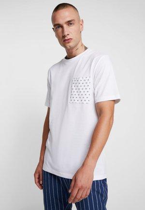 HERO LOGO - T-shirt med print - white