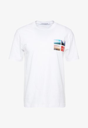 PHOTOGRAPHIC SMALL CHEST - T-Shirt print - white