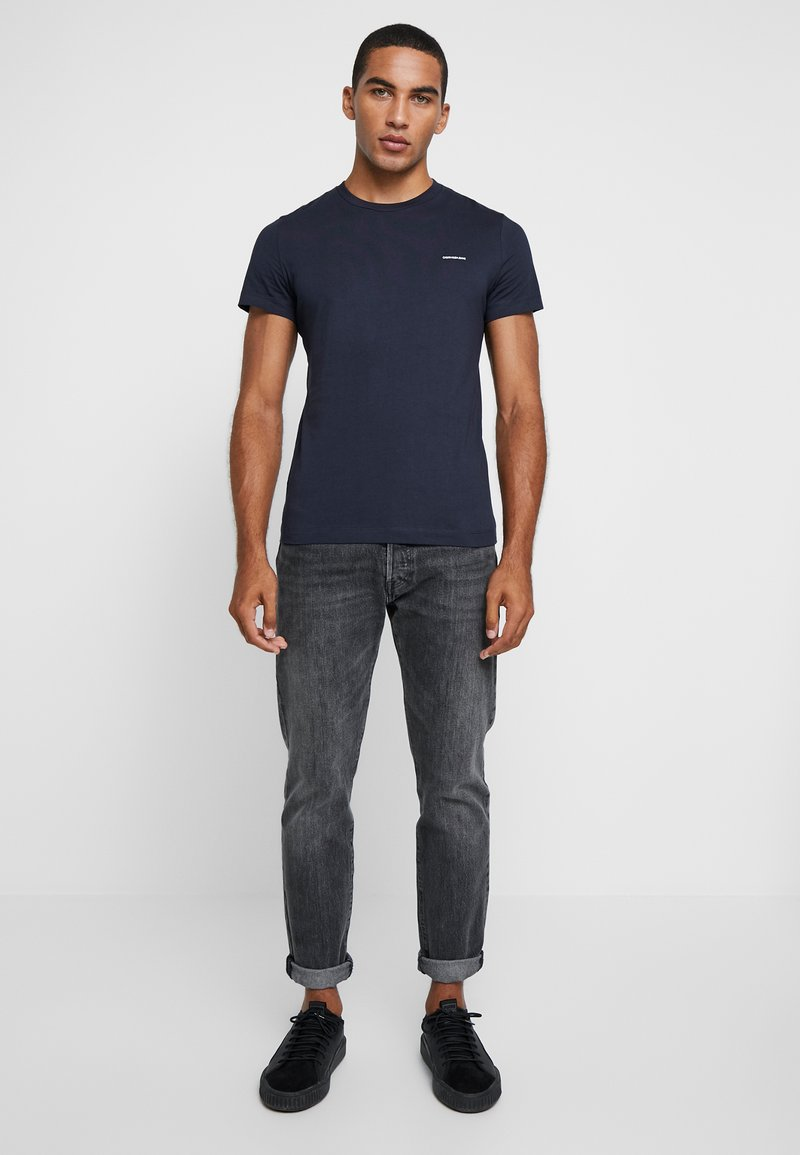 Calvin Klein Jeans - SLIM FIT 2 PACK - Camiseta básica - night sky/night sky