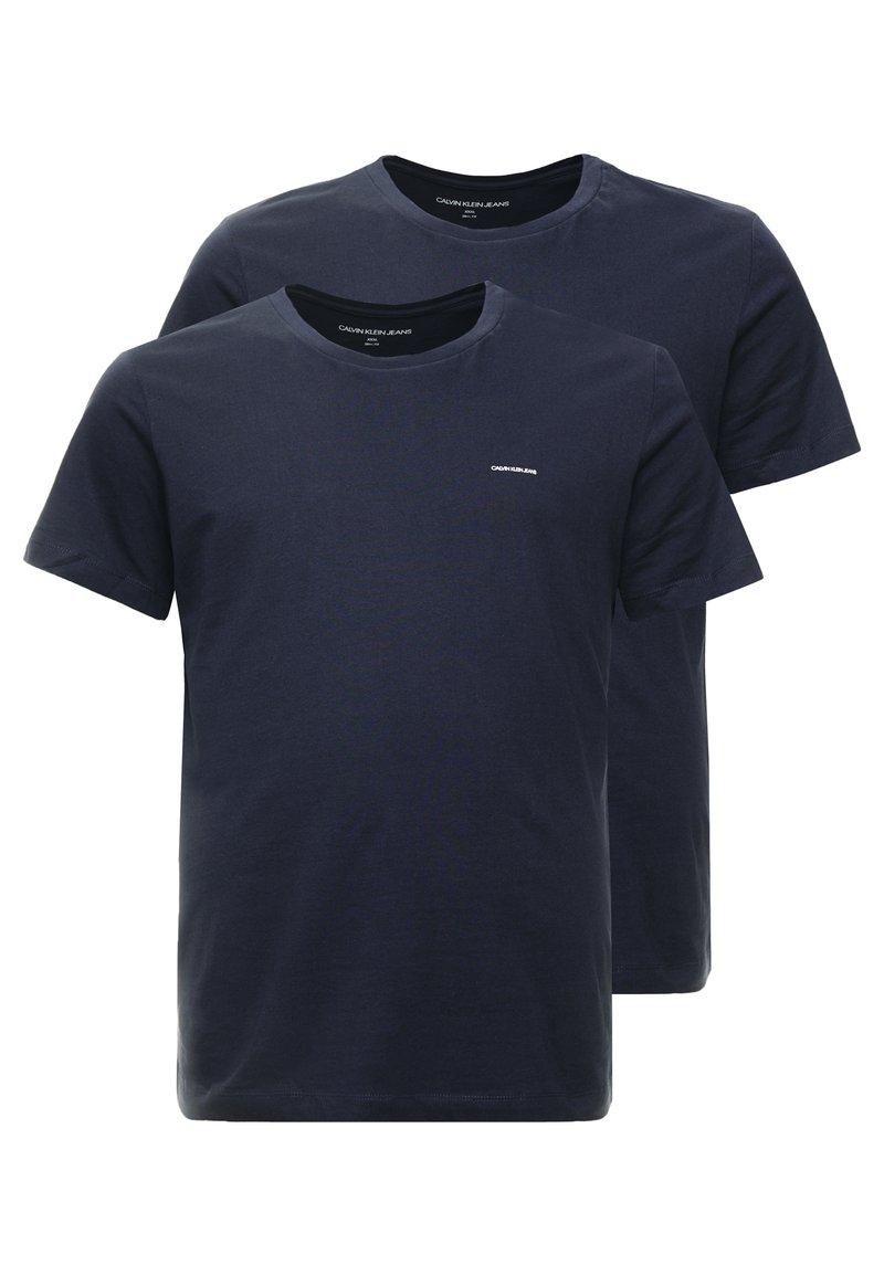 Calvin Klein Jeans - 2 PACK - T-Shirt basic - night sky