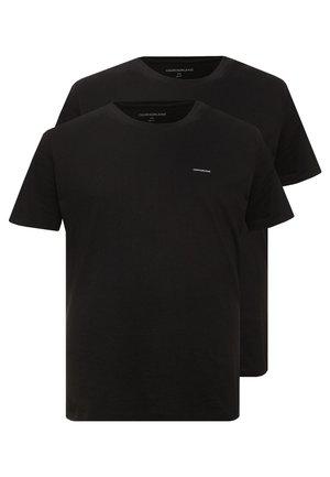 2 PACK - Basic T-shirt - black beauty