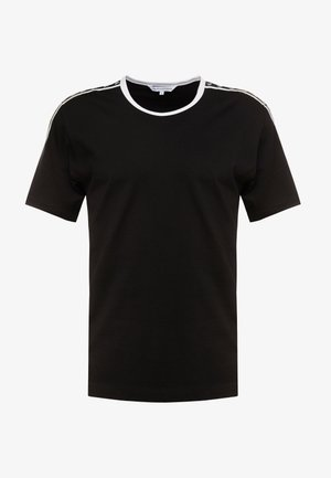 MONOGRAM TAPE TEE - T-shirt imprimé - black beauty/white tape