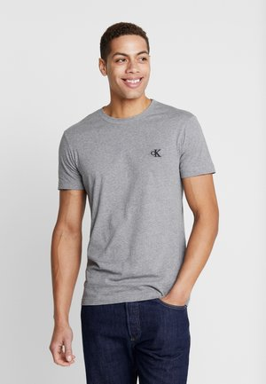 ESSENTIAL SLIM TEE - Jednoduché triko - grey heather
