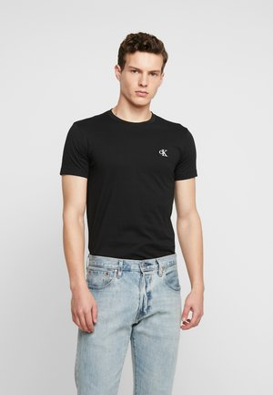 ESSENTIAL SLIM TEE - T-shirt - bas - black