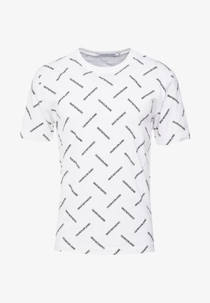INSTITUTIONAL TEE - Triko s potiskem - bright white/black