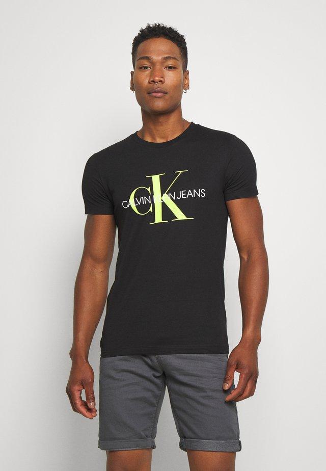 MONOGRAM LOGO - T-shirt med print - black