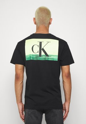 FESTIVAL TEE - T-shirt con stampa - black