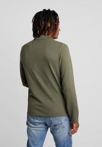 Calvin Klein Jeans - MONOGRAM SLIM FIT - Piké - grape leaf - 2