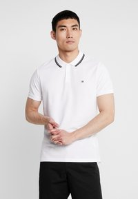 Calvin Klein Jeans - TIPPING BADGE PIMA STRETCH  - Poloshirt - bright white - 0