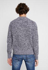 Calvin Klein Jeans - STITCH - Pullover - bright white/black - 2