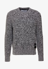 Calvin Klein Jeans - STITCH - Pullover - bright white/black - 3