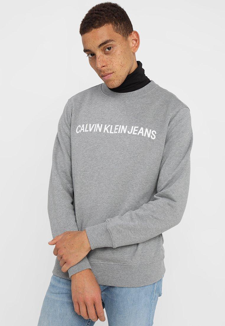 Calvin Klein Jeans - CORE INSTITUTIONAL LOGO - Sweatshirt - grey heather