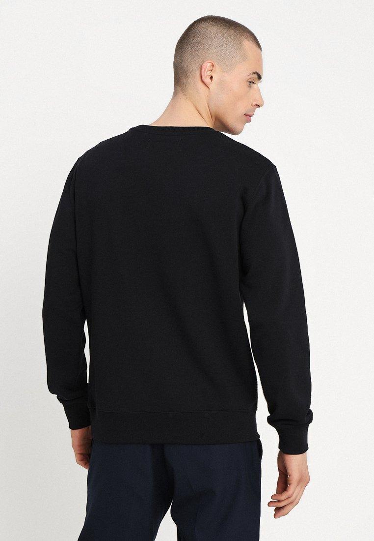 Jeans Institutional Rubber Klein Calvin BoxSweatshirt Black HIYWE2D9