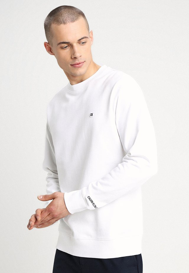 CHEST EMBROIDERY  - Sweater - white