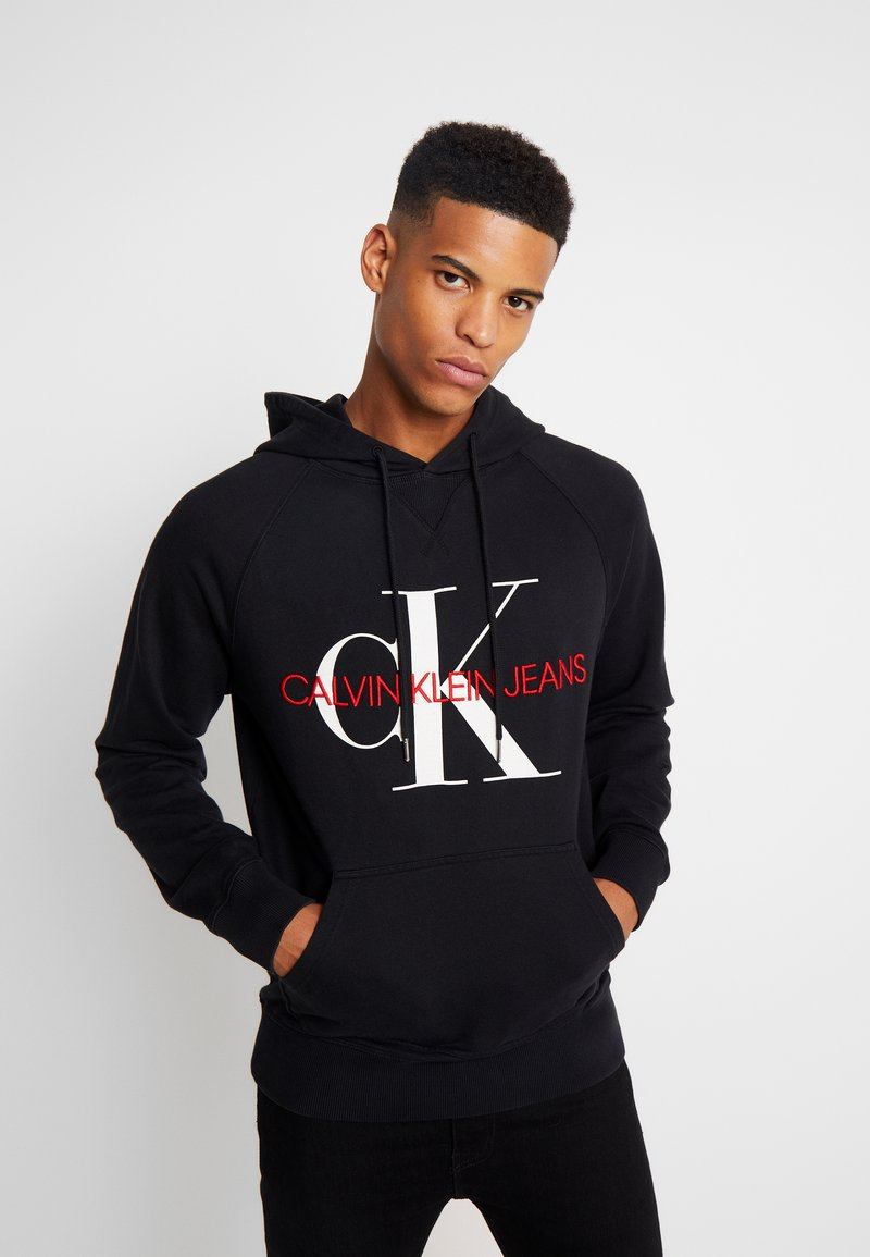 Washed Relaxed Monogram Hoodie   Luvtröja by Calvin Klein Jeans
