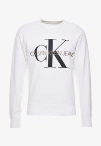 Calvin Klein Jeans - RELAXED MONOGRAM - Sweatshirt - bright white - 3