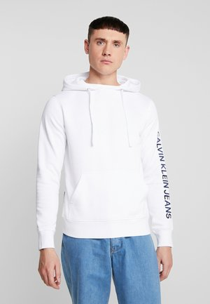 REGULAR INSTITUTIONAL HOODIE - Hoodie - bright white
