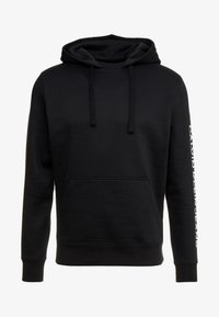 Calvin Klein Jeans - REGULAR INSTITUTIONAL HOODIE - Hoodie - black - 4