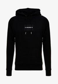 Calvin Klein Jeans - Hoodie - black / white - 4