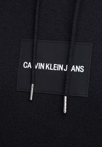 Calvin Klein Jeans - Hoodie - black / white - 5