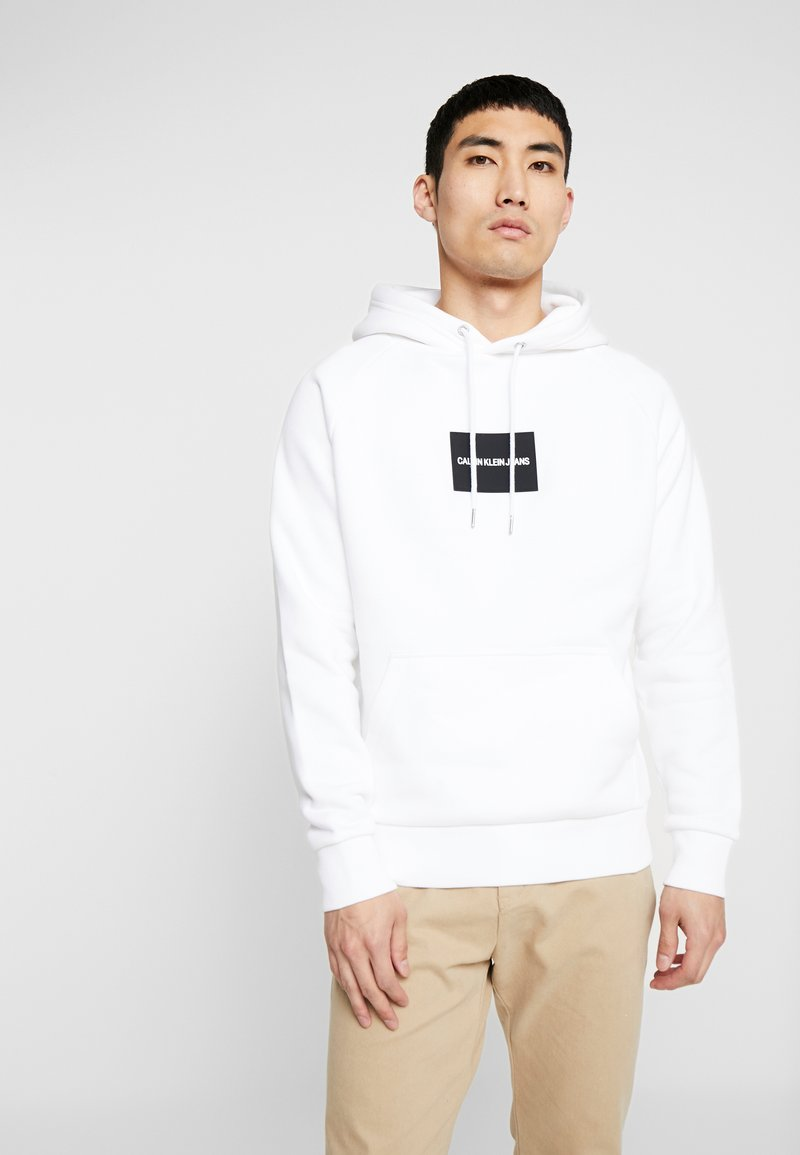 Calvin Klein Jeans - Sweat à capuche - bright white