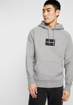 Sweat à capuche - mid grey heather