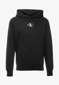 Calvin Klein Jeans - CHEST MONOGRAM HOODIE - Sweat à capuche - black - 3