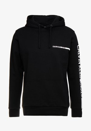 BOLD INSTITUTIONAL LOGO HOODIE - Sweat à capuche - black