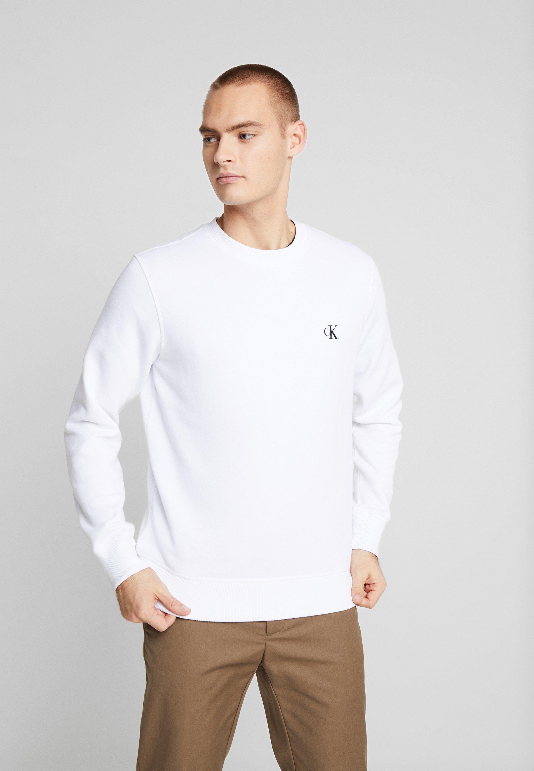 Calvin Klein Jeans ESSENTIAL - Bluza - bright white
