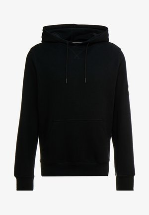 MONOGRAM SLEEVE BADGE HOODIE - Sweat à capuche - black