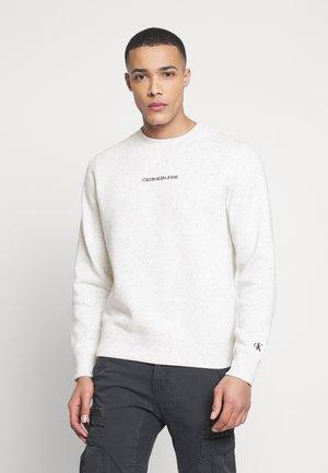 NAPS REGULAR CREW NECK - Sweatshirt - white heather