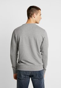 Calvin Klein Jeans - TAPING THROUGH MONOGRAM - Mikina - mid grey heather - 2