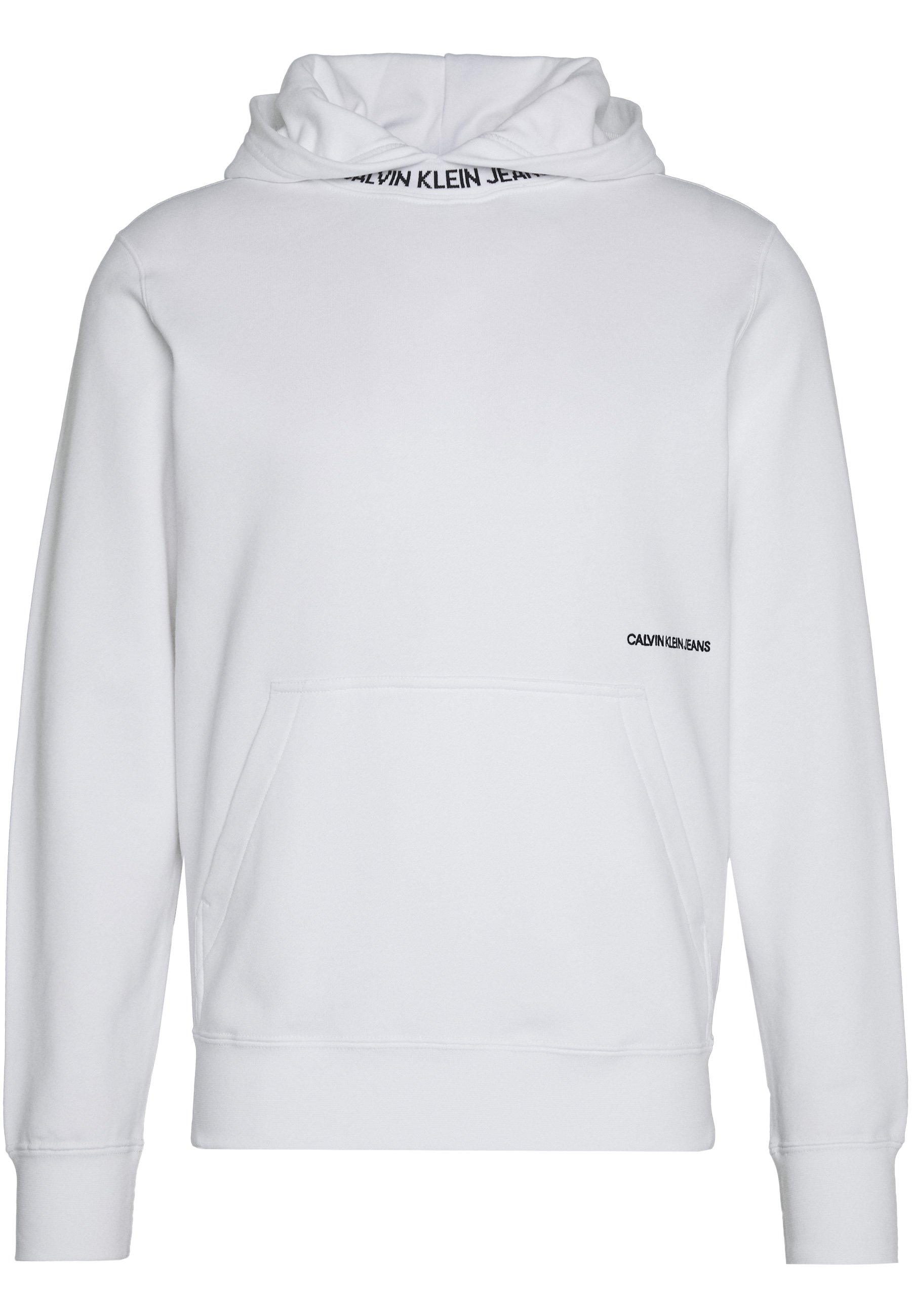 SUBTLE INSTITUTIONAL LOGO HOODIE Kapuzenpullover bright white
