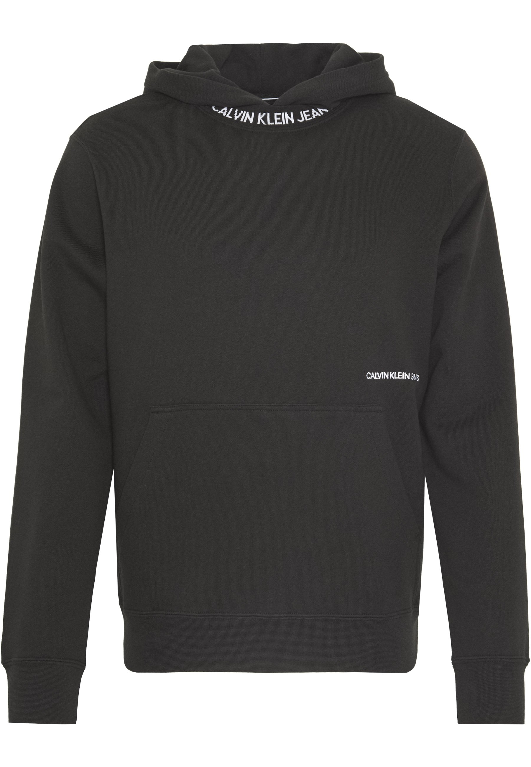 SUBTLE INSTITUTIONAL LOGO HOODIE Kapuzenpullover black