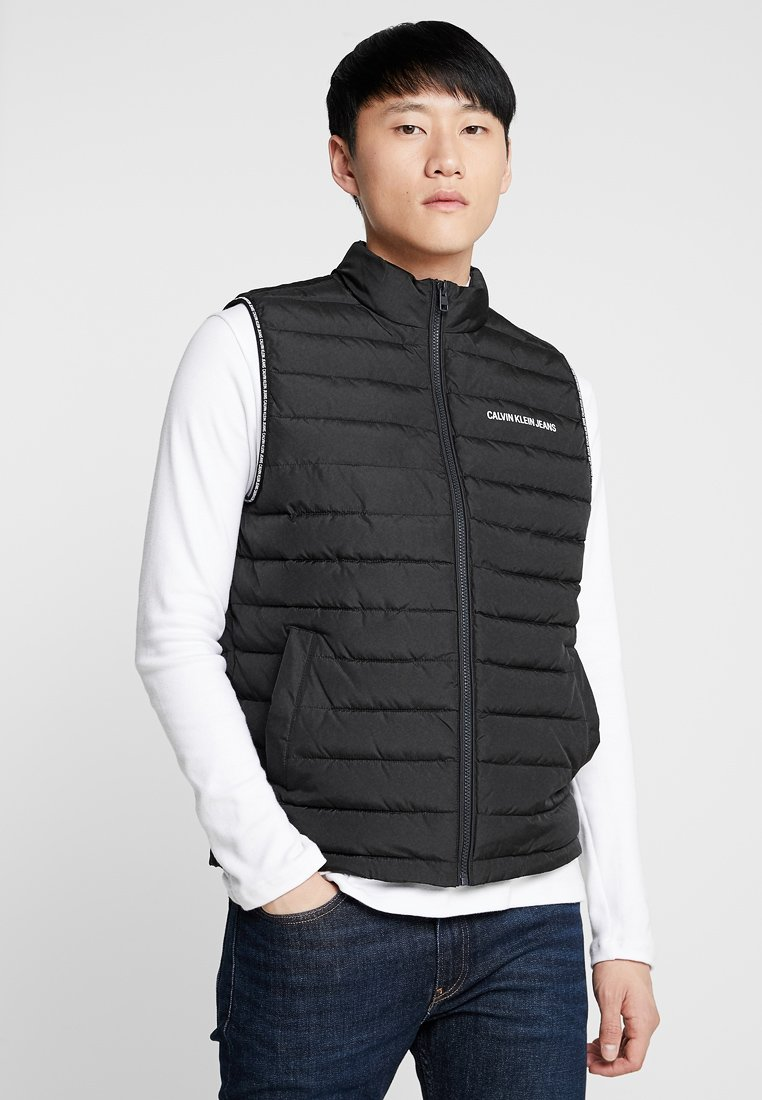Calvin Klein Jeans - PADDED GILET - Vest - black