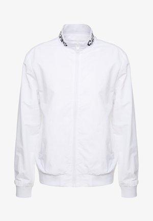 INSTIT LOGO COLLAR  - Summer jacket - white
