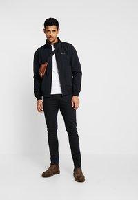 Calvin Klein Jeans - ZIP UP HARRINGTON - Chaquetas bomber - black - 1