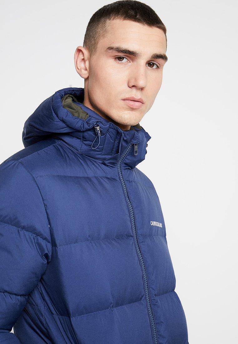 Blue Jeans Klein Down D'hiver PufferVeste Calvin Hooded lF3cK1TJ