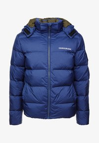 Calvin Klein Jeans - HOODED DOWN PUFFER  - Vinterjakke - blue - 5