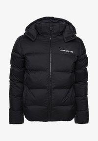 Calvin Klein Jeans - HOODED DOWN PUFFER  - Winterjas - black - 11