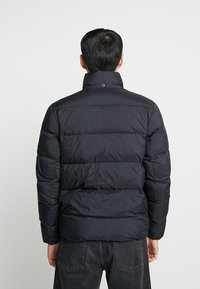 Calvin Klein Jeans - HOODED DOWN PUFFER  - Winterjas - black - 3