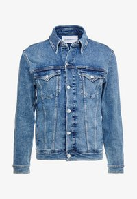 Calvin Klein Jeans - FOUNDATION SLIM JACKET - Cowboyjakker - denim - 4
