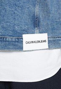 Calvin Klein Jeans - FOUNDATION SLIM JACKET - Cowboyjakker - denim - 3