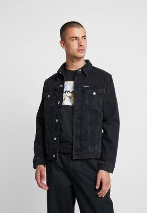 FOUNDATION SLIM JACKET - Veste en jean - black