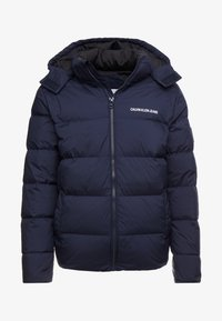 Calvin Klein Jeans - HOODED PUFFER - Down jacket - night sky - 5