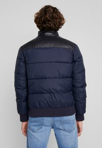 Calvin Klein Jeans - PADDED WESTERN PUFFER - Zimní bunda - night sky / black - 2